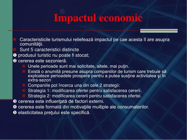 Impactul economic