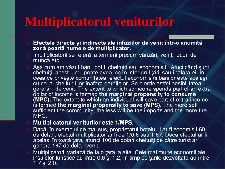 Multiplicatorul veniturilor