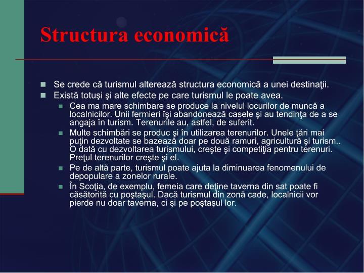 Structura economică