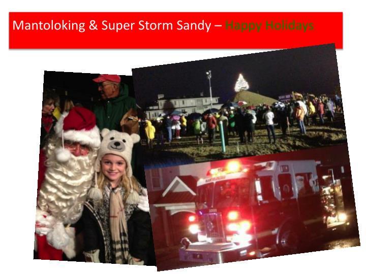 Mantoloking & Super Storm Sandy –