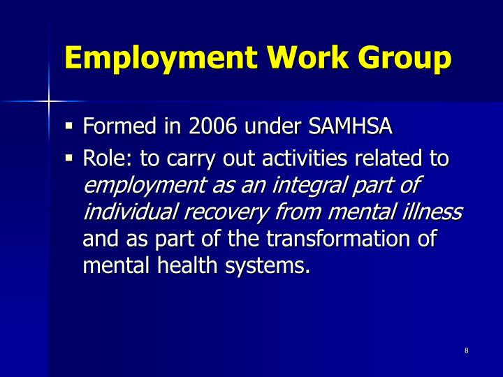 Employment Work Group