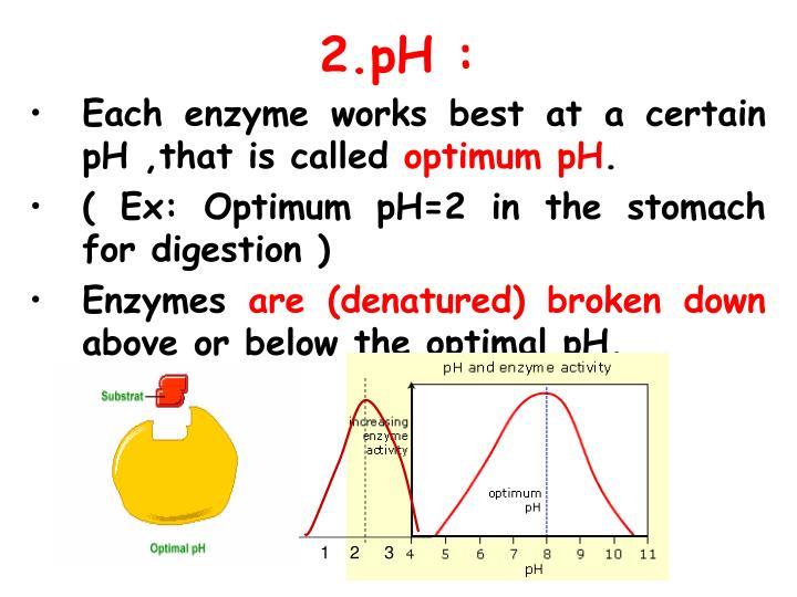 2.pH :