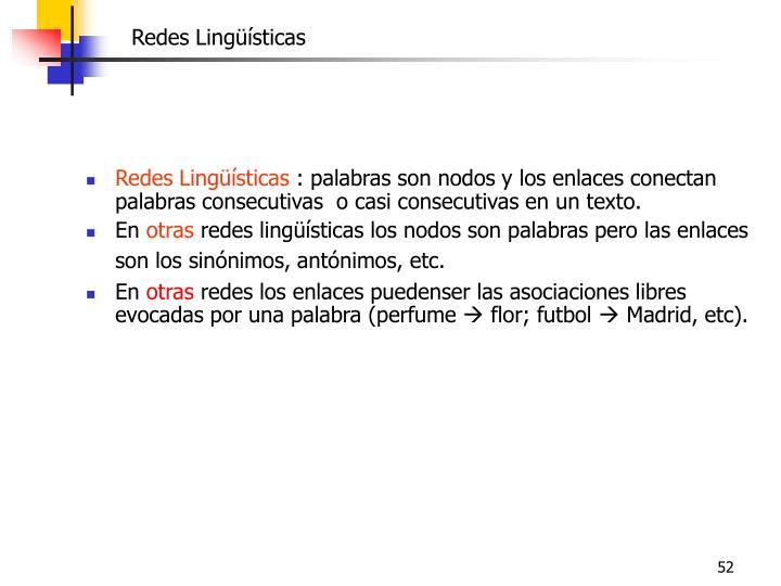 Redes Lingüísticas