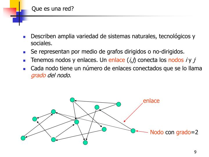 Que es una red?