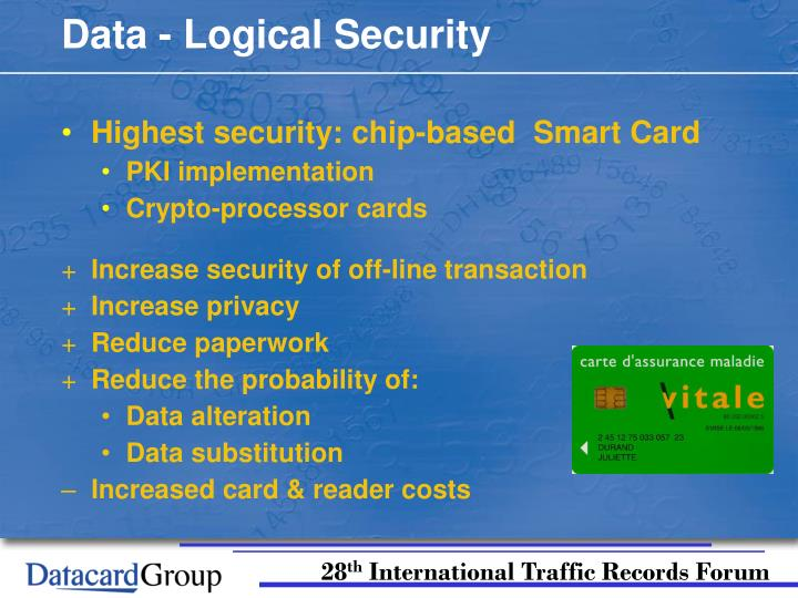 Data - Logical Security