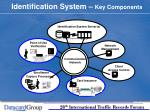 identification system key components