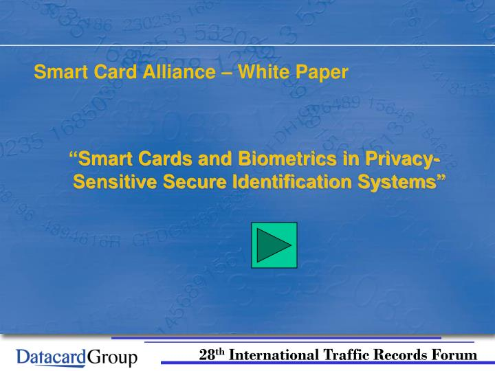 Smart Card Alliance – White Paper