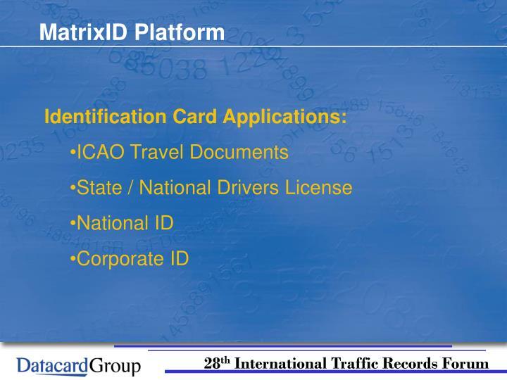 MatrixID Platform