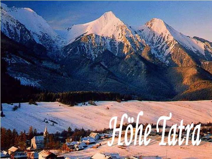 Höhe Tatra