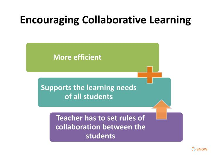 Encouraging Collaborative Learning