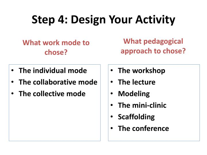 Step 4: Design Your
