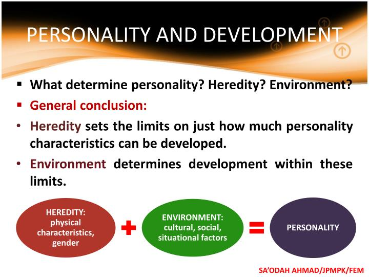 PERSONALITY AND DEVELOPMENT