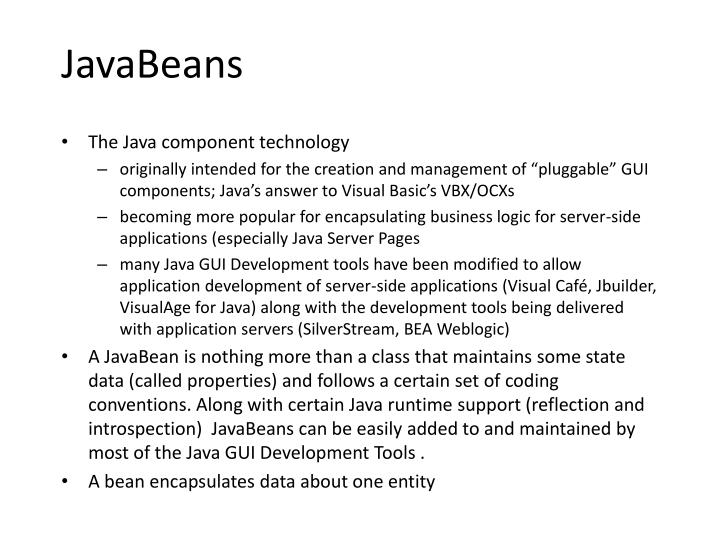 JavaBeans