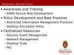 integrating a security culture