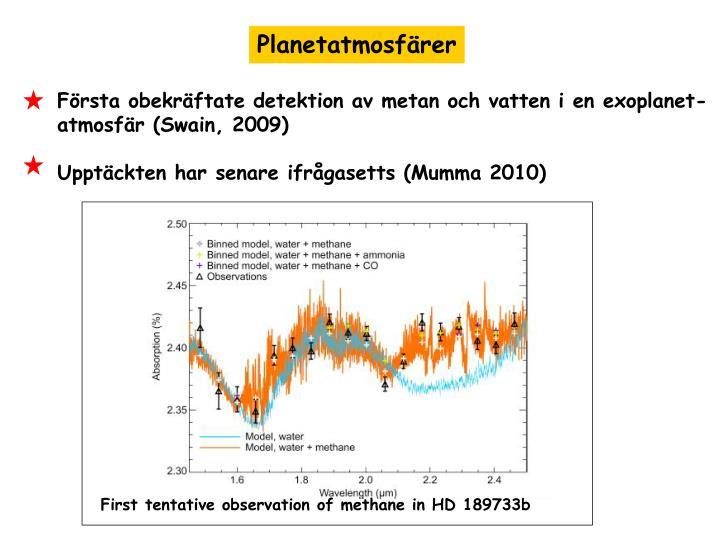Planetatmosfärer