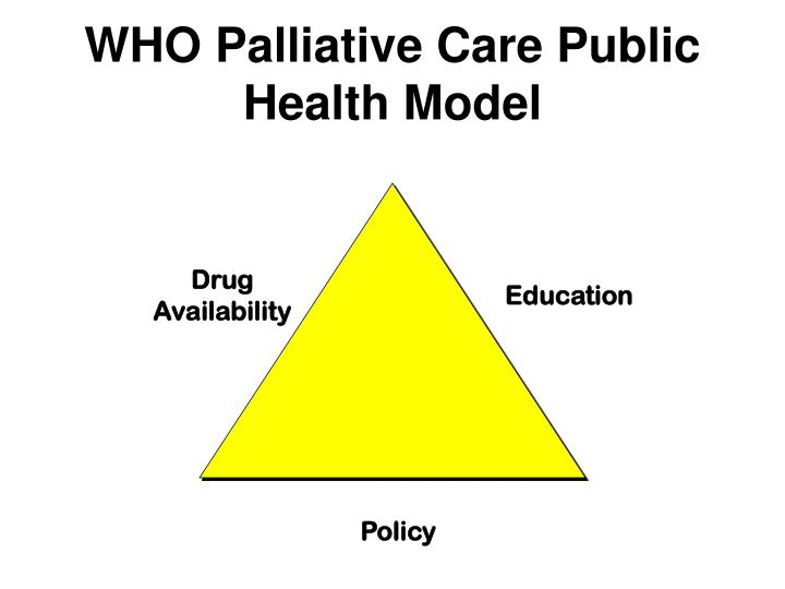 WHO Palliative Care Public Health Model