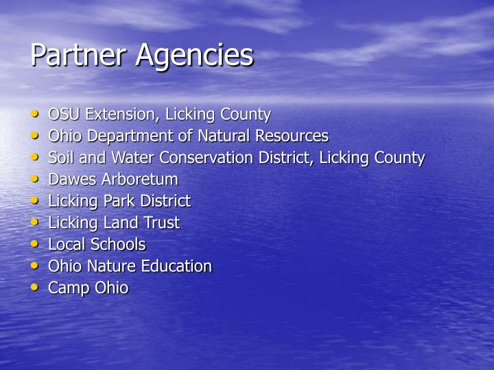 Partner Agencies
