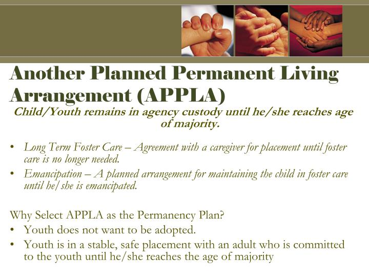 Another Planned Permanent Living Arrangement (APPLA)