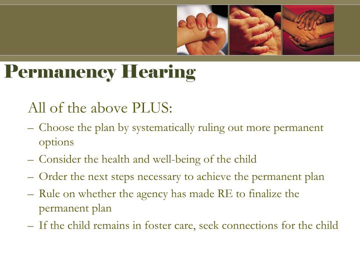 Permanency Hearing