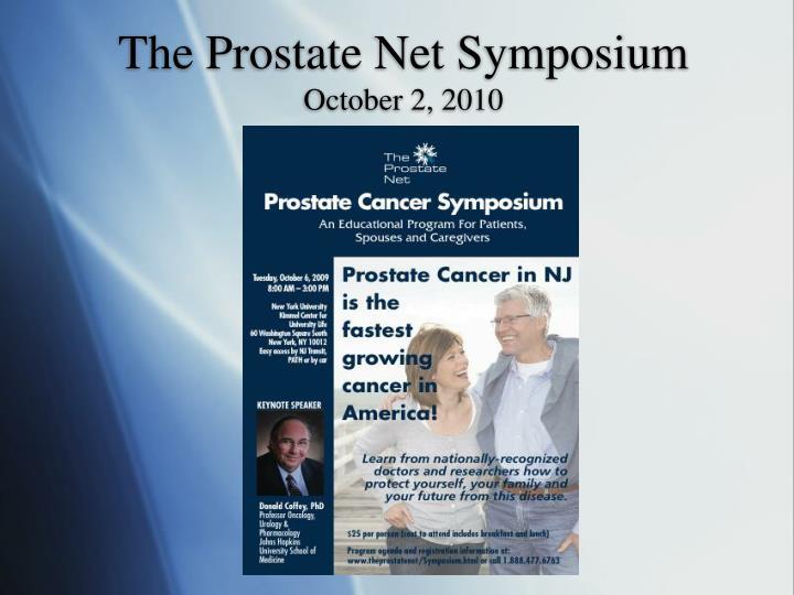 The Prostate Net Symposium