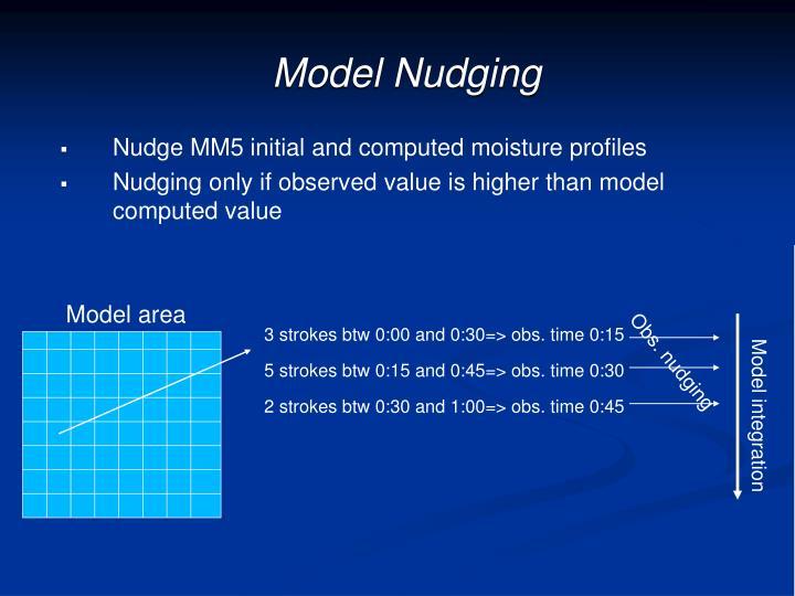 Model Nudging