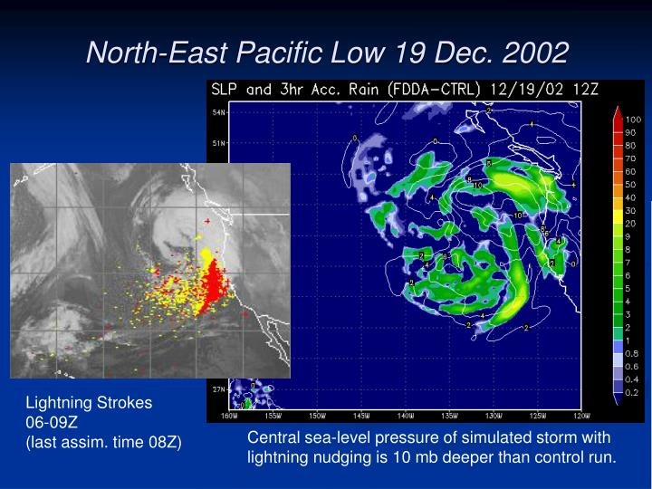 North-East Pacific Low 19 Dec. 2002