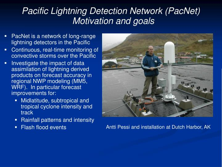 Pacific Lightning Detection Network (PacNet)