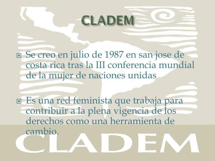 CLADEM