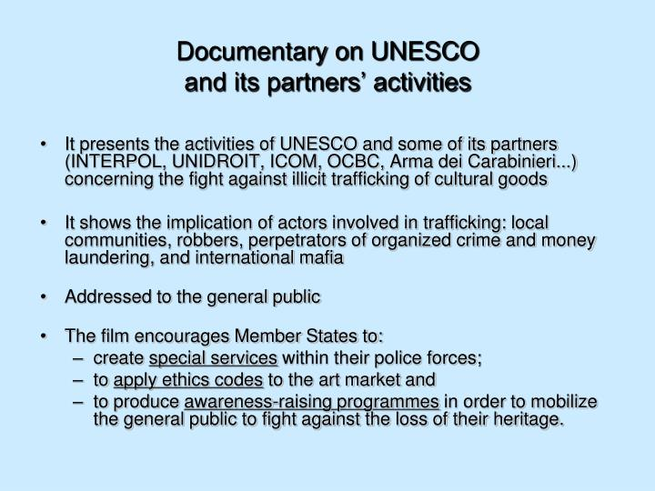 Documentary on UNESCO