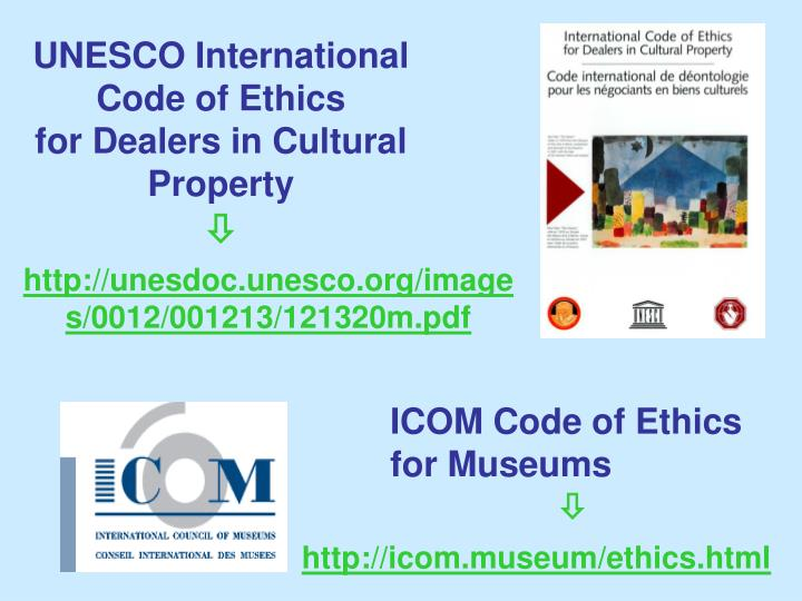 UNESCO International Code of Ethics
