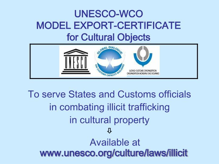 UNESCO-WCO