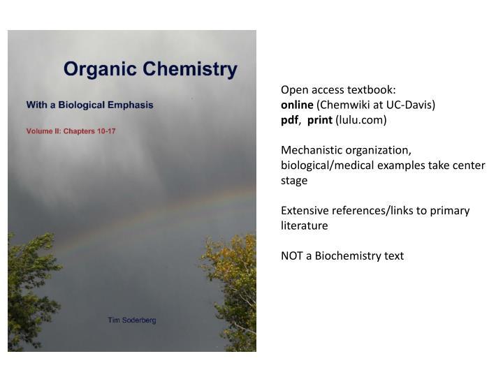 Open access textbook: