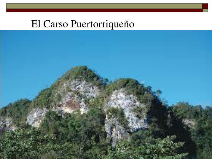 El Carso Puertorriqueño