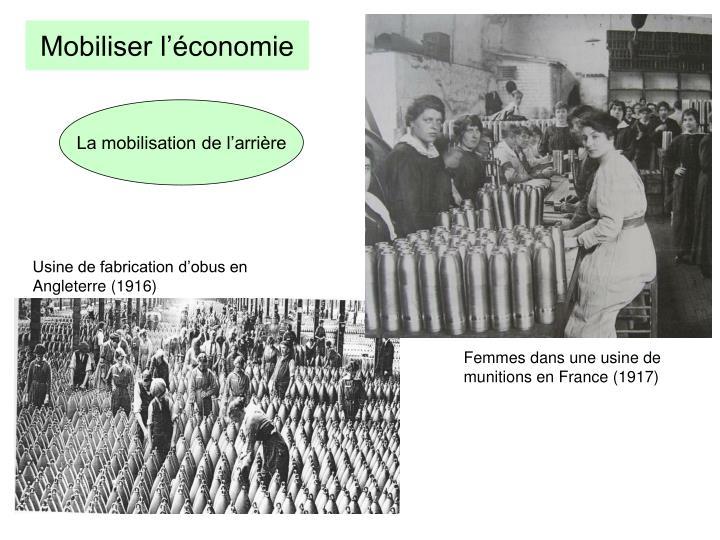 Mobiliser l'économie