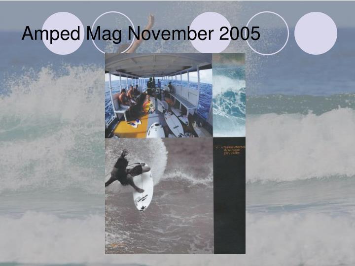 Amped Mag November 2005