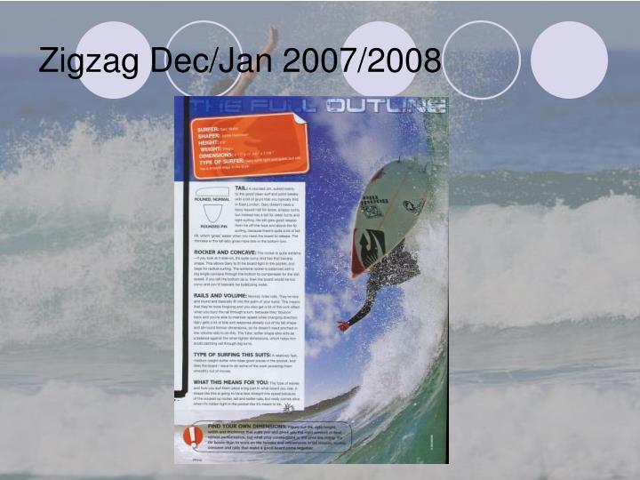 Zigzag Dec/Jan 2007/2008