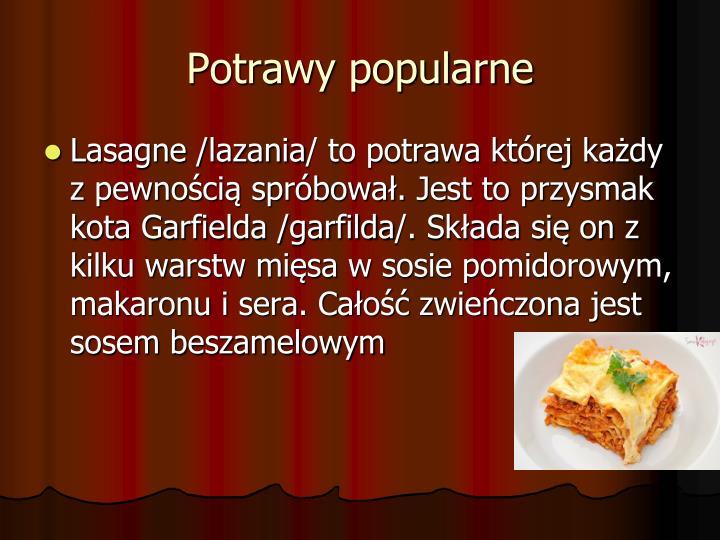 Potrawy popularne