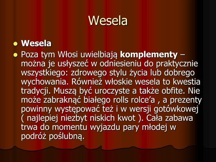 Wesela