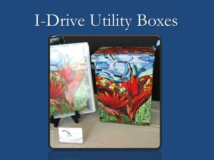 I-Drive Utility Boxes