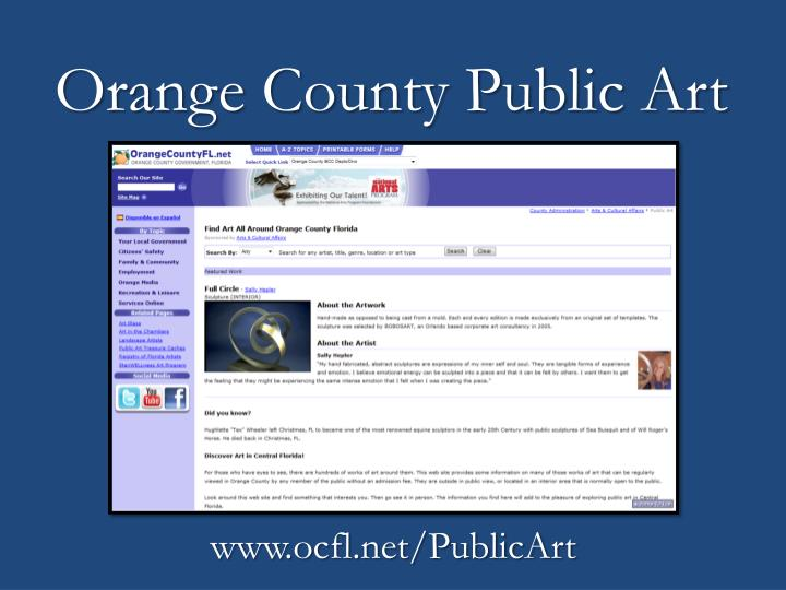 Orange County Public Art