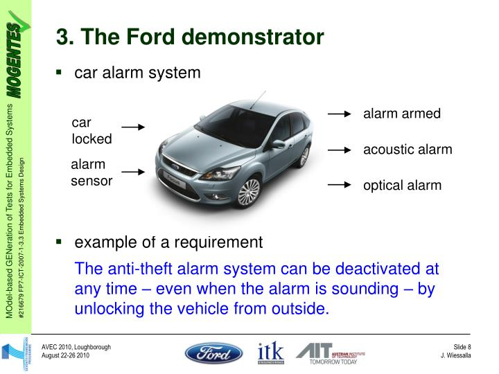 3. The Ford demonstrator