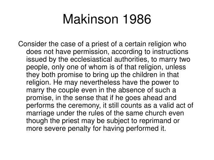 Makinson 1986