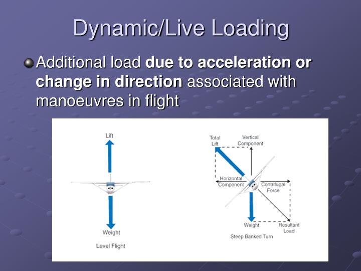 Dynamic/Live Loading