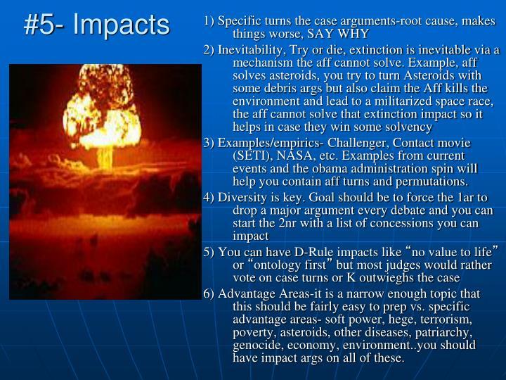 #5- Impacts