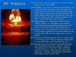 5 impacts