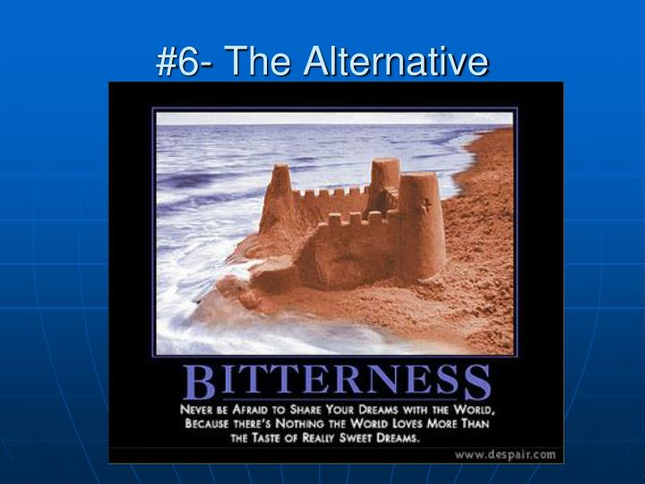 #6- The Alternative