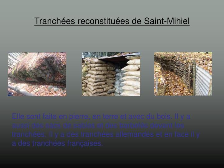 Tranchées reconstituées de Saint-Mihiel