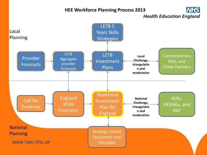 HEE Workforce Planning Process 2013