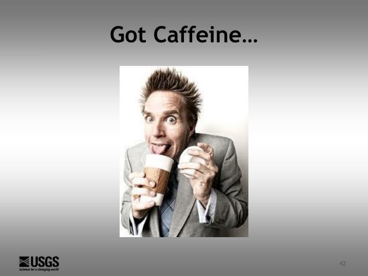 Got Caffeine…