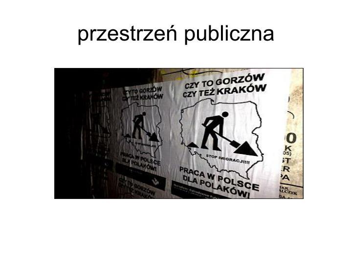 przestrzeń publiczna